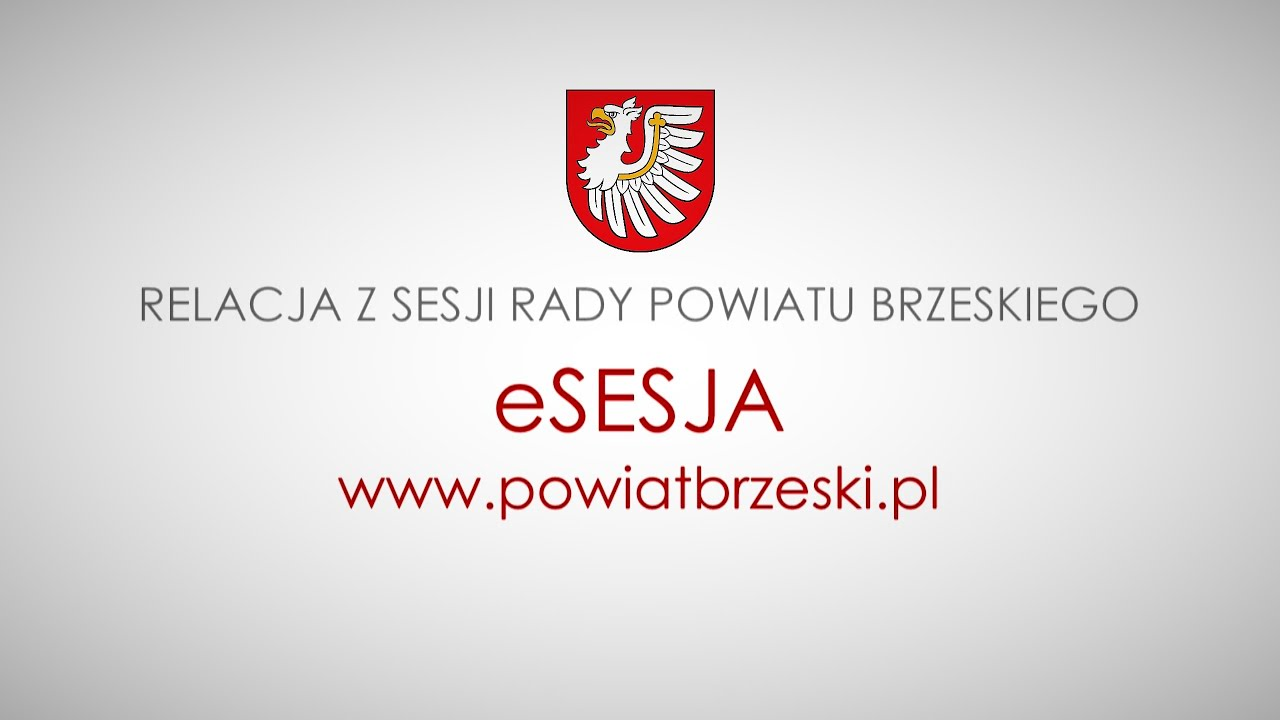 relacja z Sesji Rady Powiatu Brzeskiego