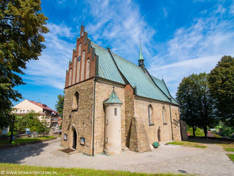 Kościół pw. Narodzenia Najświętszej Maryi Panny z 1346 r.