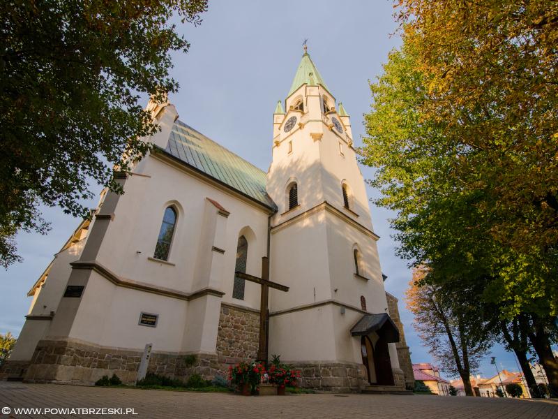 Kościół św Jakuba w Brzesku
